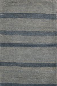 Stripped 3x4 Gabbeh Zolanvari Shiraz Persian Area Rug