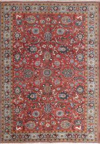 Animal Pictorial 7x10 Qum Persian Area Rug