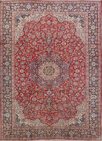 Medallion 9x13 Isfahan Persian Area Rug