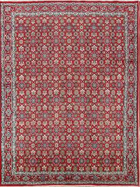 All-Over Floral 9x12 Ardebil Tabriz Persian Area Rug