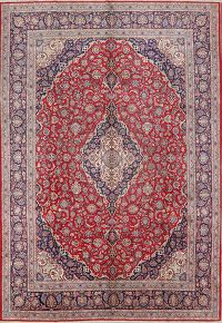 10x14 Kashan (signed) Persian Area Rug