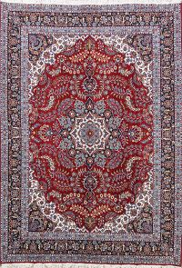 Soft Plush Floral 10x13 Isfahan Persian Area Rug