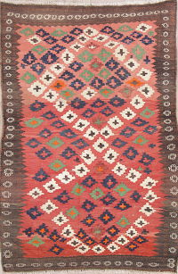 Geometric Kilim Persian Area Rug 5x7