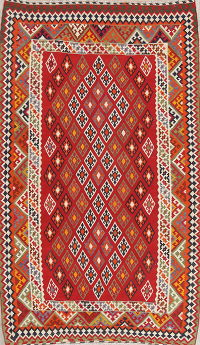 Geometric Kilim Persian Area Rug 6x9