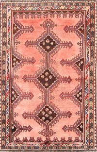 Geometric Lori Shiraz Persian Runner Rug 4x8