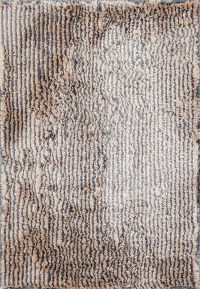 Contemporary Tufted Indian Oriental Area Rug 6x9
