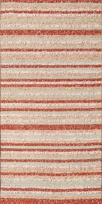 Stripe Kilim Turkish Oriental Runner Rug 2x5