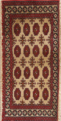 Geometric Turkoman Persian Area Rug 2x3