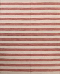 Reversible Stripe Gabbeh Indian Oriental Rug 8x10
