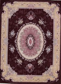 Soft Pile Floral Tabriz Persian Style Area Rug 10x13