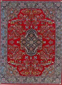 Soft Pile Floral Kashmar Persian Style Area Rug 10x13