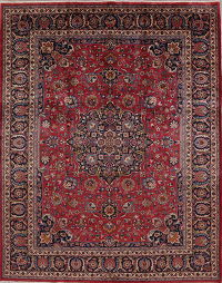 Traditional Floral Kashmar Persian Area Rug 10x13