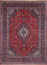 Traditional Floral Kashmar Persian Area Rug 8x11