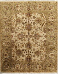 Floral Oushak Agra Indian Oriental Area Rug 8x10