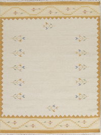 Contemporary Kilim Dhurrie Oriental Area Rug