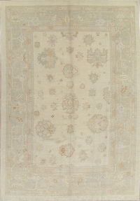 Floral Oushak Turkish Oriental Area Rug 9x13