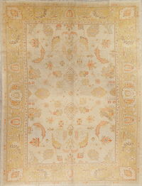 Floral Oushak Turkish Oriental Area Rug 9x12